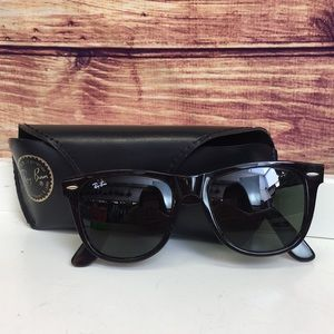 Ray Ban Unisex Tortoise Square Sunglasses